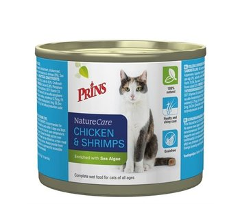 Prins naturecare cat kip/garnaal