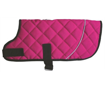 Go walk jas quilted classic raspberry roze