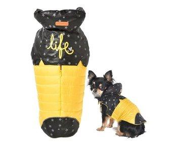 Bobby hondenjas life geel / zwart ster