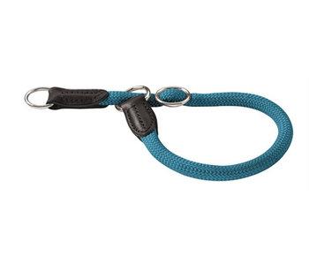 Hunter halsband freestyle met stop turquoise