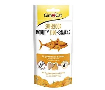 Gimcat superfood mobility duo-snacks tonijn / pompoen