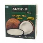 Aroy-D Kokosmelk 150ml 17% vet