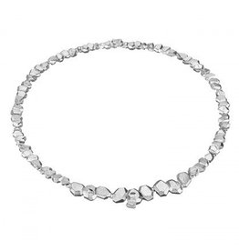 Lapponia Frozen Amethyst zilveren collier