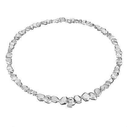 Lapponia Lapponia Frozen Amethyst zilveren collier