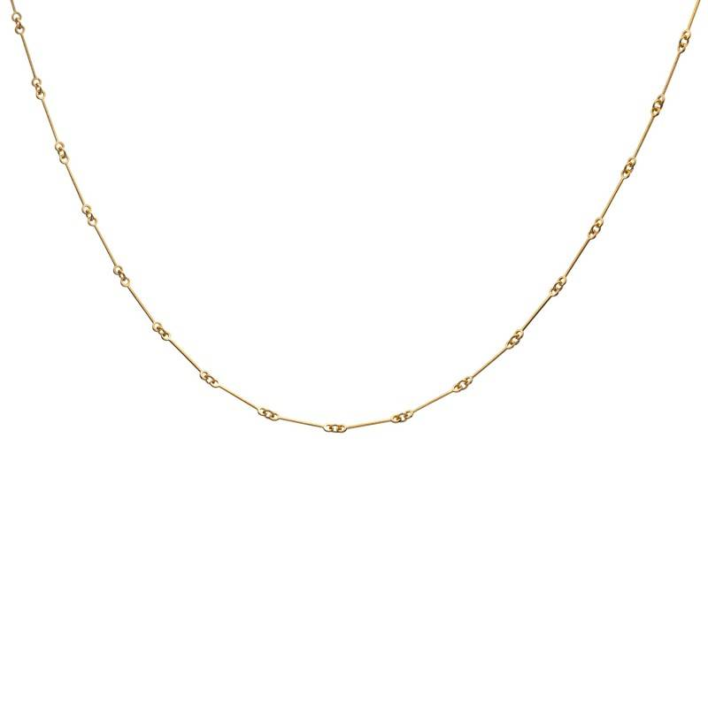 Lapponia Lapponia Chain collier 14 kt. geelgoud