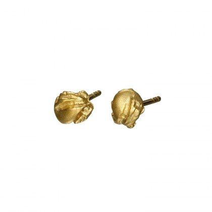 Lapponia Lapponia Mininugget oorstekers 14 kt. geelgoud