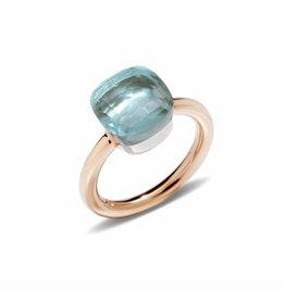 Pomellato Pomellato Nudo Classic ring blauwe topaas