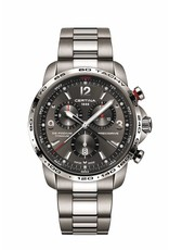 Certina Certina DS Podium Chronograph 1/100 Sec  Titanium 44 mm.