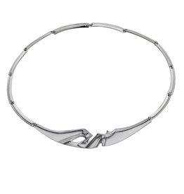 Lapponia Lapponia Ibis zilveren collier