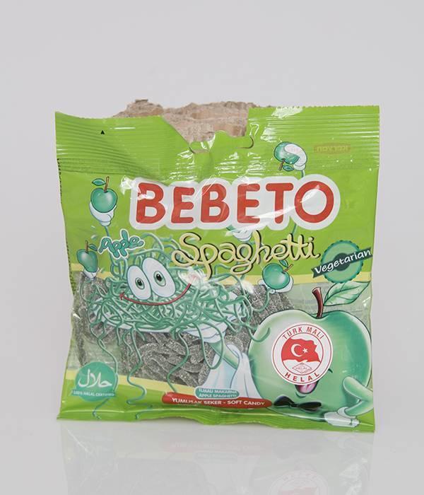 BEBETO Spaghetti Apfel überzogen mit Zucker (80g)