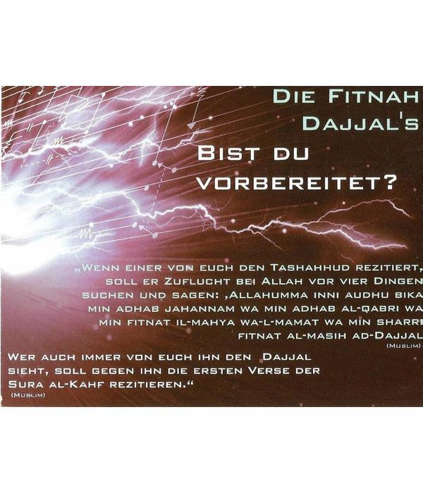Die Fitna Dajjal's - Postkarte - P27