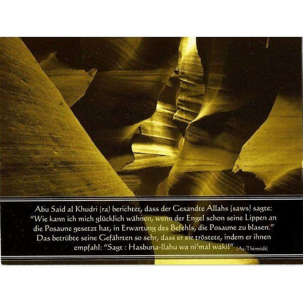 Hadith - Postkarte