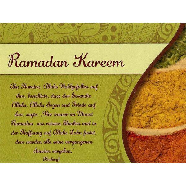 Ramadan Kareem - Postkarte