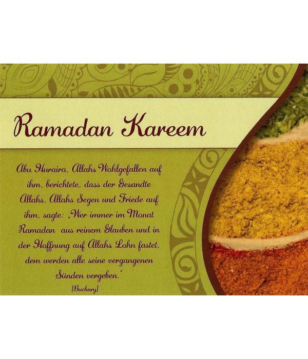 Ramadan Kareem - Postkarte - PK6