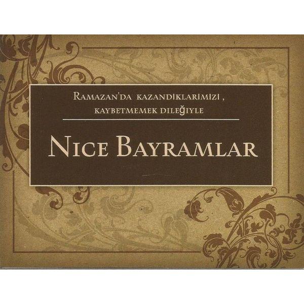 Nice Bayramlar - Postkarte