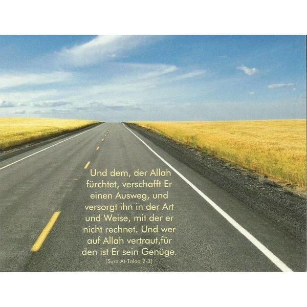 Ausweg - Postkarte
