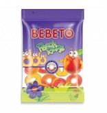 BEBETO Jelly Gum Peach Rings (80g)