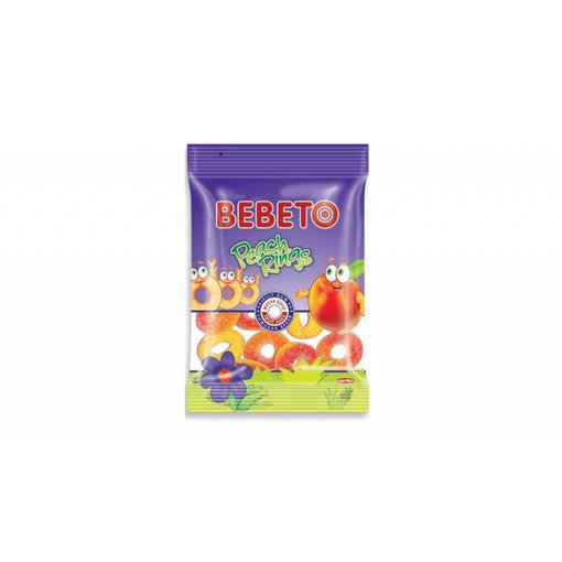 BEBETO Peach Rings (80g)