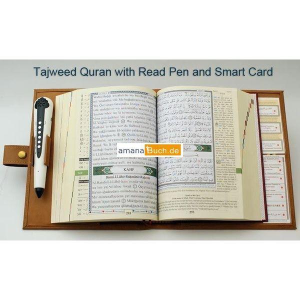 Quran / Koran Tajweed mit Lesestift / Read Pen (türkisch/deutsch)