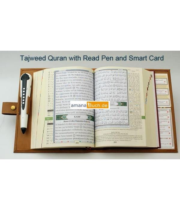 Quran Tagwied mit Lesestift / Read Pen (arabisch/türkisch)