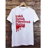 T-Shirt Blut (Länder)