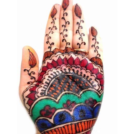 Multicolor Henna Paste (versch. Farben)