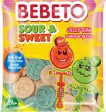 BEBETO Jelly Gum Sour & Sweet(80g)