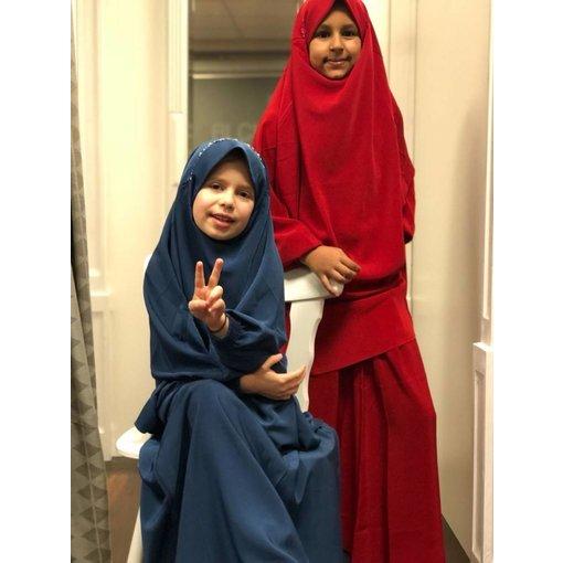 Dorra Al Maknuna - Khimar Set für Kinder