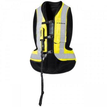 Held Biker Fashion Air vest Neongeel