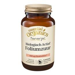 Essential Organics PUUR Biologisch Actief Foliumzuur 60 mini Plantcaps
