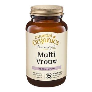 Essential Organics PUUR Multi Vrouw 60 Plantcaps