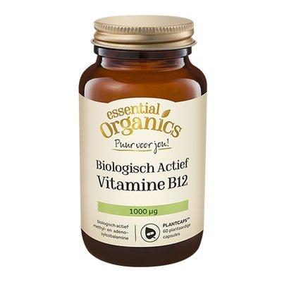 Essential Organics Essential Organics PUUR Biologisch Actief Vitamine B12 60 mini Plantcaps
