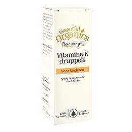 Essential Organics PUUR Vitamine K druppels 10 ml