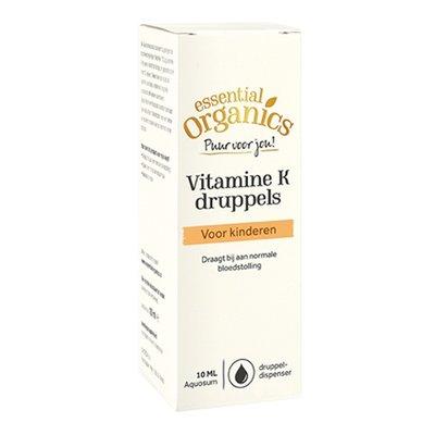 Essential Organics Essential Organics PUUR Vitamine K druppels 10 ml