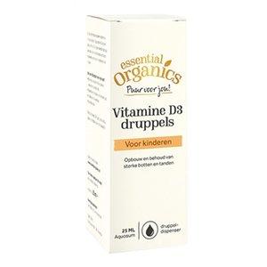 Essential Organics PUUR Vitamine D3 druppels 25 ml