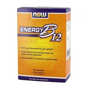 NOW Energy B12 2000 ug (75 sachets)