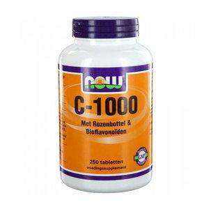 NOW C-1000 met Rozenbottel & Bioflavonoiden (250 tabs)
