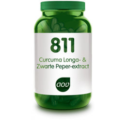AOV 811 Curcuma Longa- & Zwarte Peper-extract 60 vegacaps