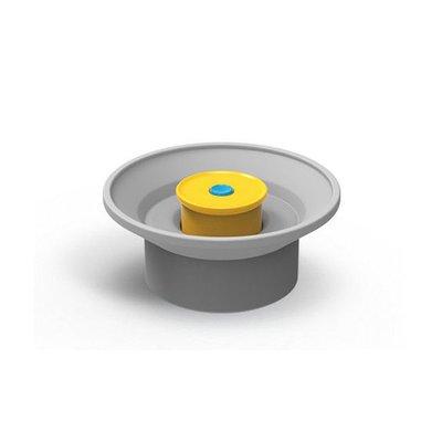 Dopper Dopper Sport Cap grijs/geel
