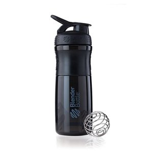 BlenderBottle SportMixer 820 ml Zwart