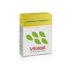 Vitotaal Cranberry + Vitamine C