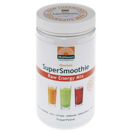 Mattisson Supersmoothie Energy Mix Bio Raw 300 gram