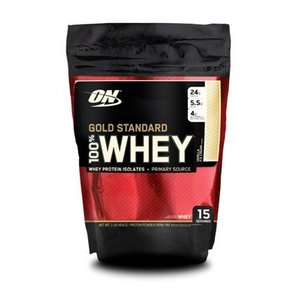 Optimum Nutrition Gold Standard Whey Gold 450 Gram Bag