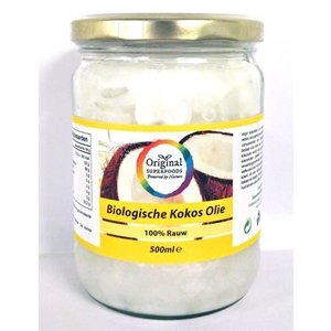 Original Superfoods Biologische Kokosolie Extra Virgin 500 ml