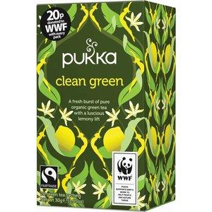 Pukka Biologische Clean Green Groene Thee 20 Zakjes