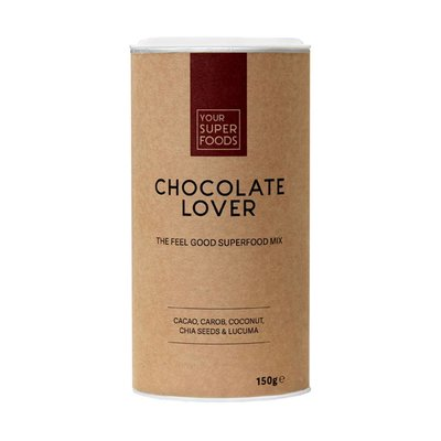 Your Superfoods Your Superfoods Organic Chocolate Lover Mix 150 gram