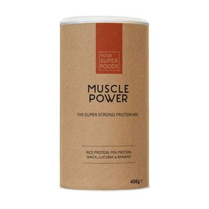 Your Superfoods Organic Muscle Power Mix 400 gram