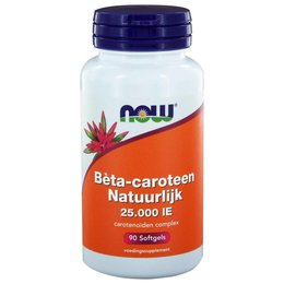 NOW Beta-Caroteen 25.000IE 90 softgels