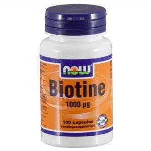 NOW Biotine 1000 ug (100 capsules)