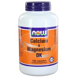NOW Calcium & Magnesium DK (180 capsules)